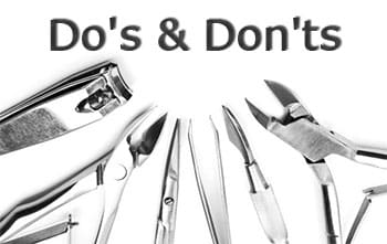 Do's and Don'ts When Visiting a Nail Salon