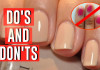 Manicure Do's and Don'ts