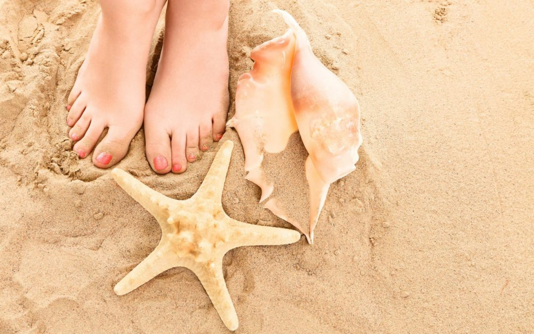 7 Beach Themed Pedicure for this Vacation Season!