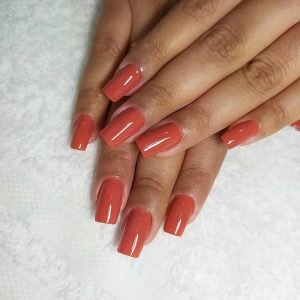 Regular Acrylic Full Set with Color