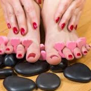 Hot Stone Manicure & Pedicure
