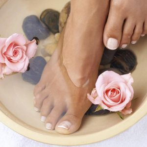 Special Hot Stone Pedicure