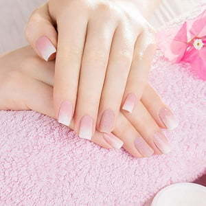 Pink Fill-in w Manicure