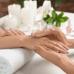 Deluxe Manicure (with 10 minutes of massage)