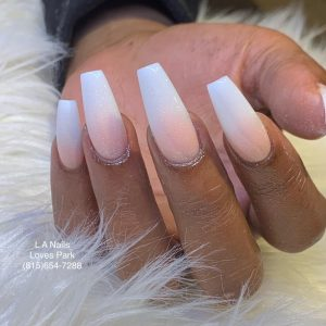 Pink & White Fill in 1 color