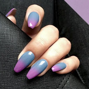 Ombre Two Colors Full set