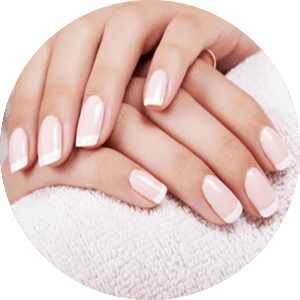 Dipping with Manicure