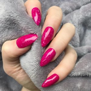 Gel Acrylic Fill-ins with Color