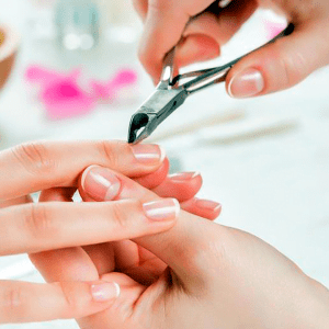 Nail Trimming on Hands
