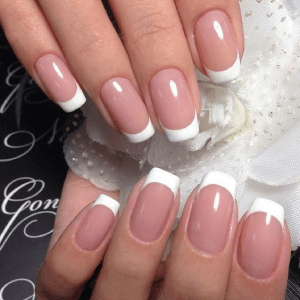 Dipping Powder French with Manicure