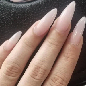 Acrylic White Tips Fill in
