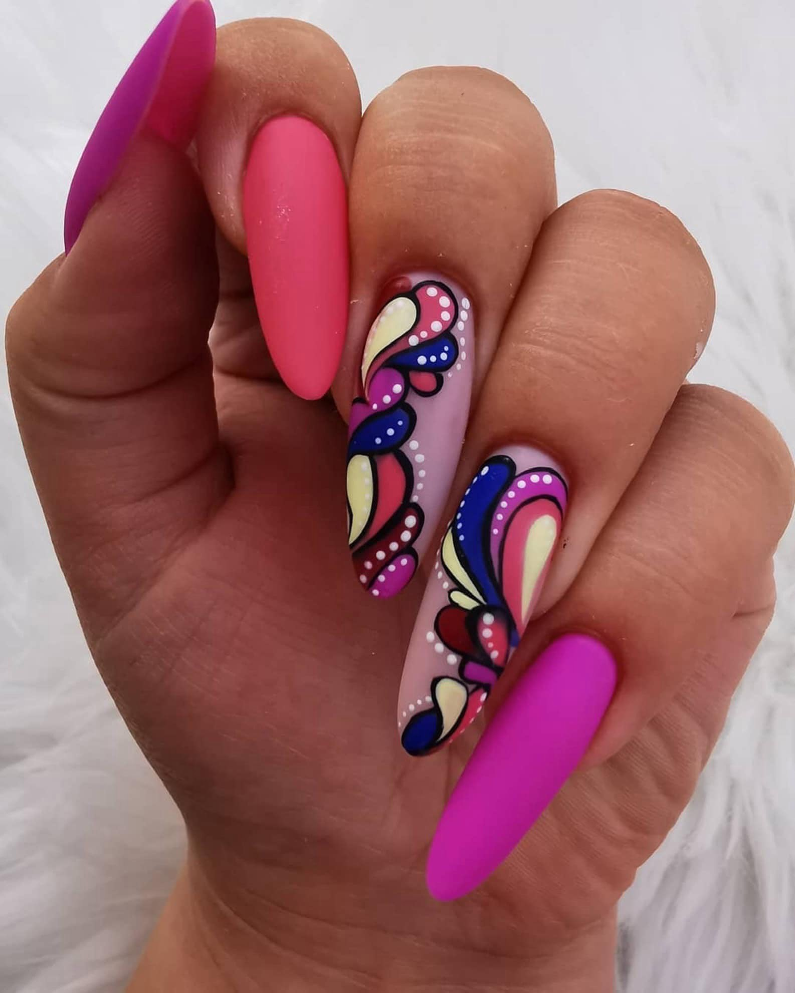 Nail Design (2 fingers)