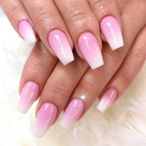 Powder Ombre Pink Fill