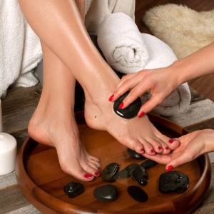 Sassy Royalty Organic Pedicure