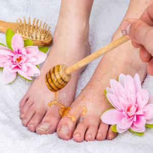 Green Tea & Honey Spa Pedicure