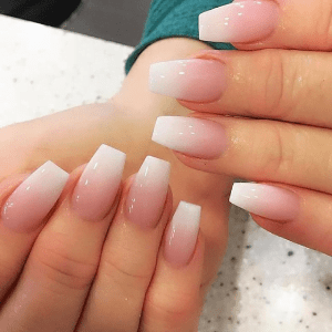 Acrylic Pink & White Fill-ins