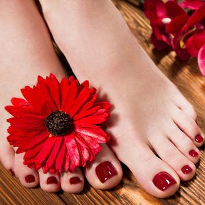Sole Solution Baobab Butter Pedicure with Galvanic Spa