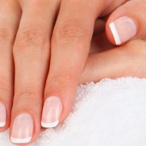 Manicure with Regular French