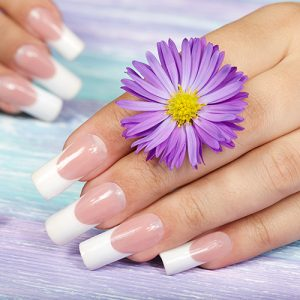 Manicure with Artificial Nails