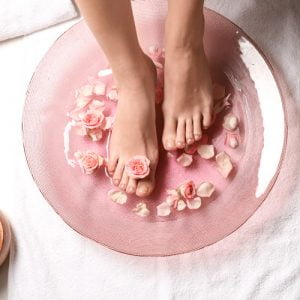Fire Walker Baobab Butter Pedicure with Galvanic Spa