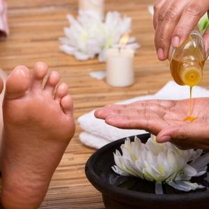 Basic Spa Pedicure with Gel