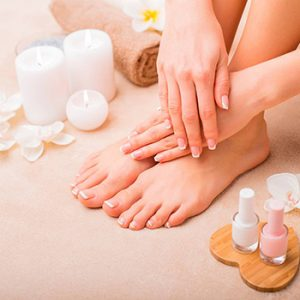 Regular Manicure + Gel Pedicure