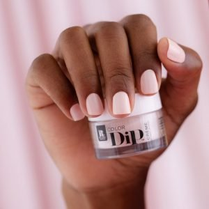 Dipping Powder Natural Nails with Manicure