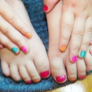 Pedicure and Manicure for Kids