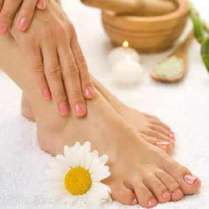Essential Oils Pedicure