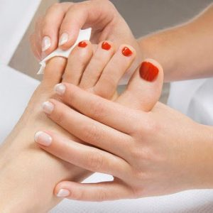 Gel Removal Pedicure