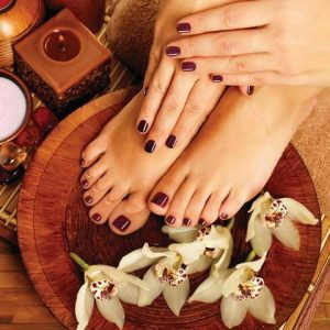 Winter Spa Pedicure