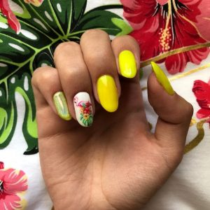 Tropical Manicure
