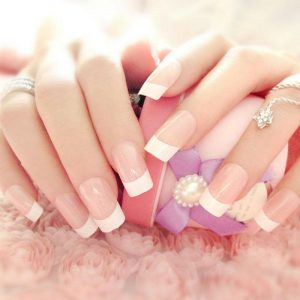 Non-chip Gel French/American Manicure