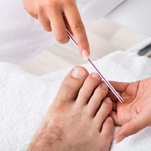 Pedicure For Man