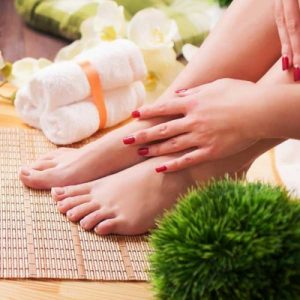 Green Tea Honey Pedicure