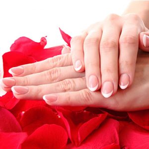 Gel Manicure French