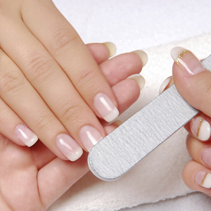 With Manicure