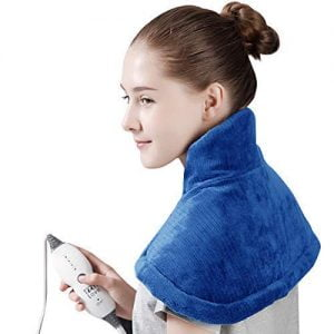Add-on Heating Pad for Neck And Shoulder Pain Relief