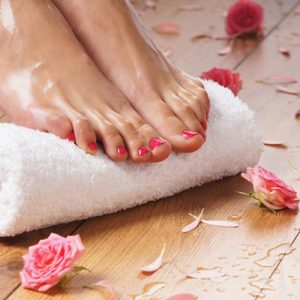 Collagen Pedicure