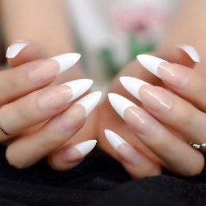 Gel French Tips Fill in