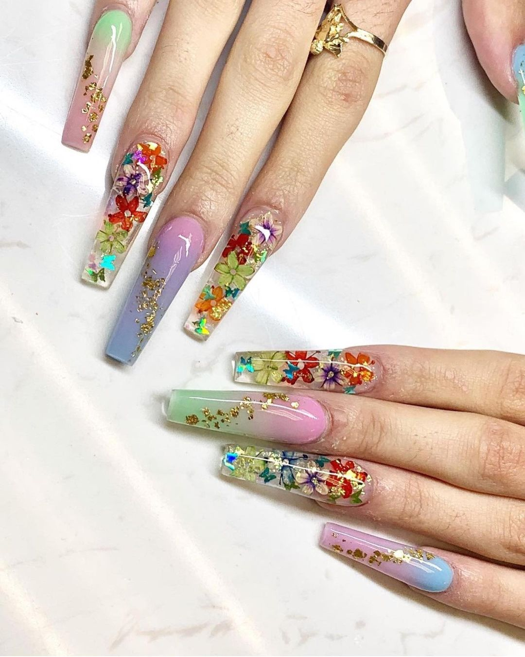 Infinity Nails Design