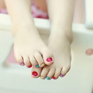 3 - 6 Years Old Pedicure