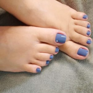 Gel Color & Pedicure