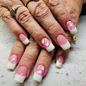 Dip French with Manicure