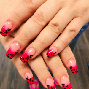 Dip on Natural Nails with Manicure
